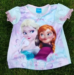 Frozen pajama top